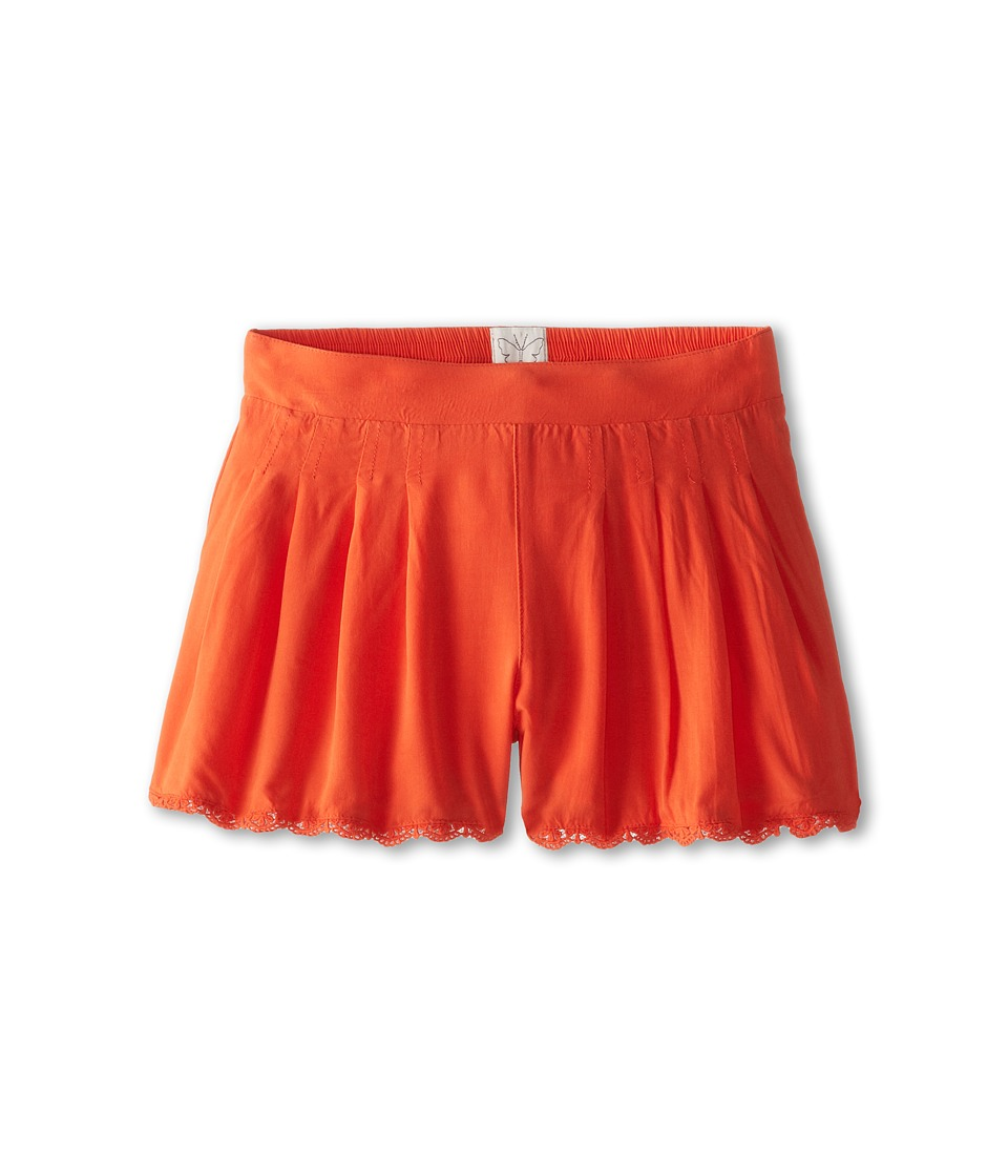 Ella Moss Girl - Makayla Shorts (Big Kids) (Orange) Girl