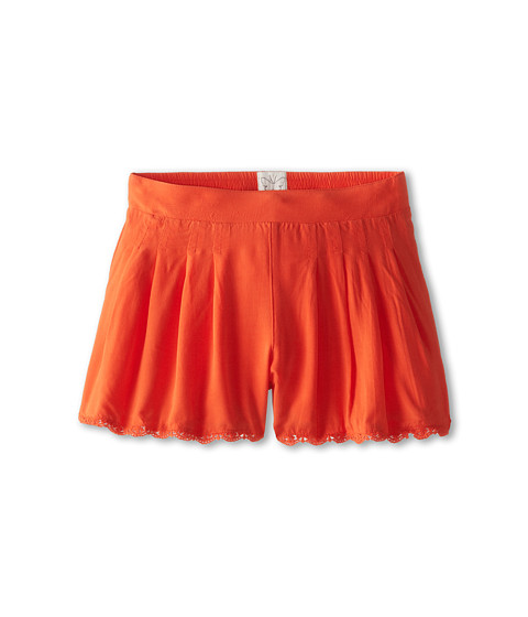 Ella Moss Girl - Makayla Shorts (Big Kids) (Orange) Girl's Shorts