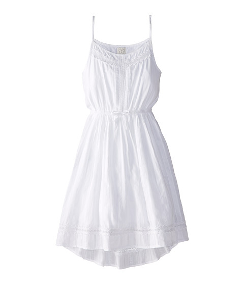 Ella Moss Girl - Hailey Dress (Big Kids) (White) Girl