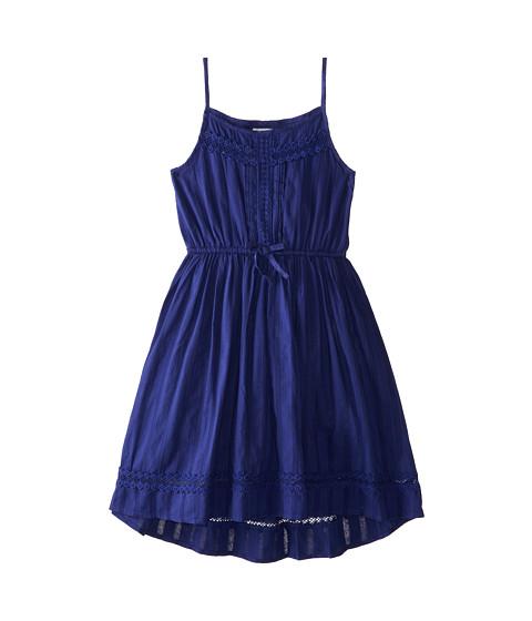 Ella Moss Girl - Hailey Dress (Big Kids) (Dark Blue) Girl