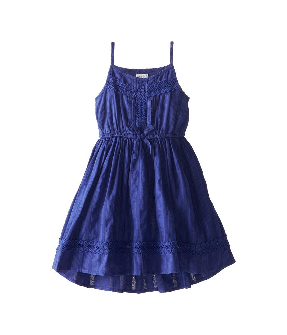 Ella Moss Girl - Hailey Dress (Little Kids) (Dark Blue) Girl's Dress