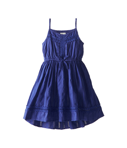Ella Moss Girl - Hailey Dress (Little Kids) (Dark Blue) Girl