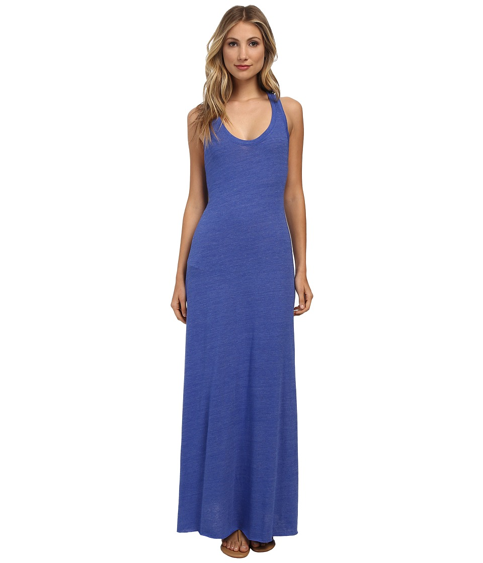 Alternative - Racerback Maxi Dress (Eco True Sapphire Blue) Women's Dress