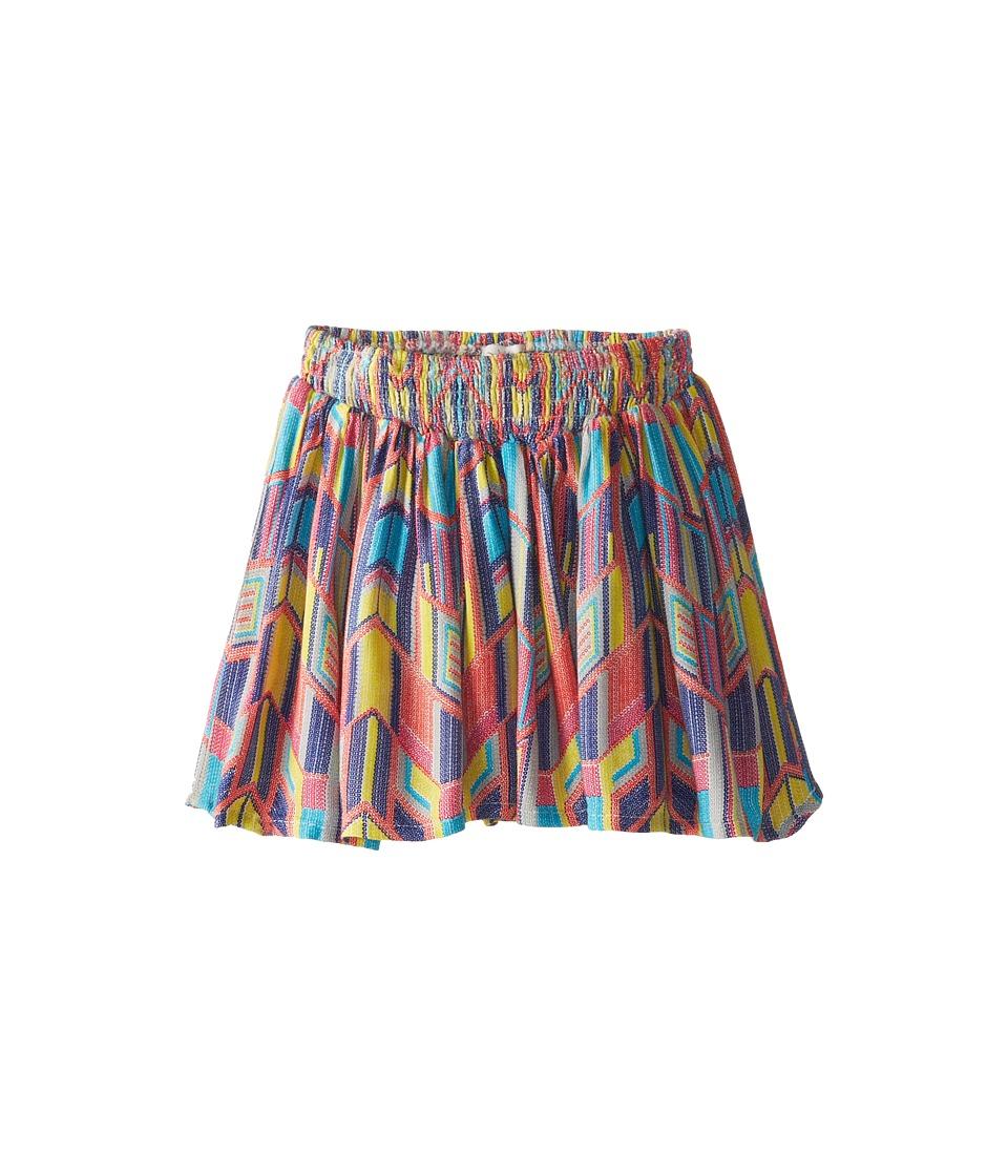 Ella Moss Girl - Geo Printed Challis Skirt (Little Kids) (Print) Girl's Skirt