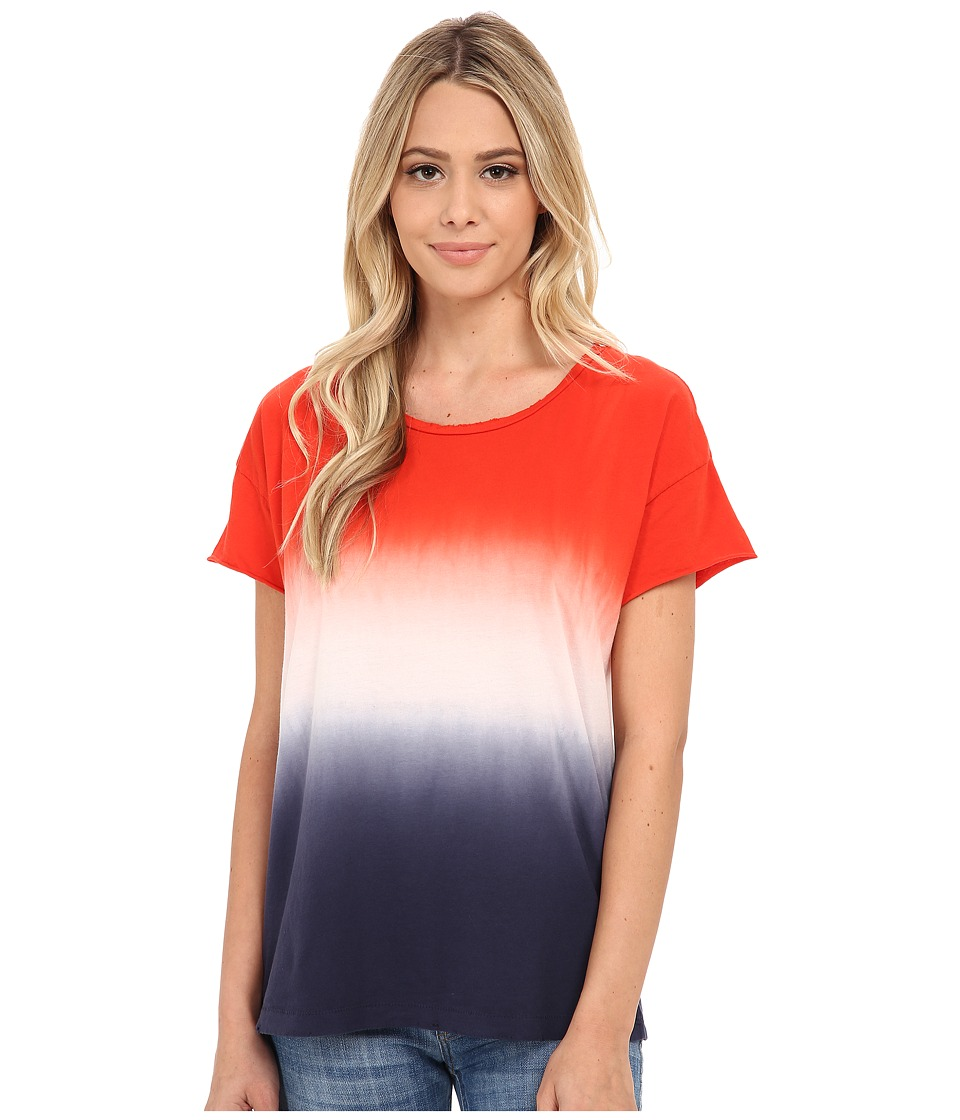 Alternative - Distressed Rocker Tee (United Dip Dye) Women's T Shirt