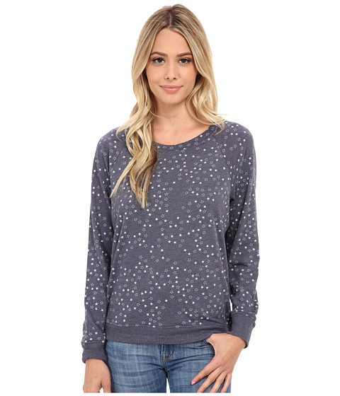 Alternative - Eco Jersey Slouchy Pullover (Eco True Navy Scattered Stars) Women