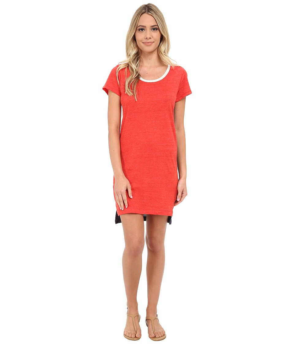 Alternative - Eco Jersey T-Shirt Dress (Eco True Cayenne) Women's Dress