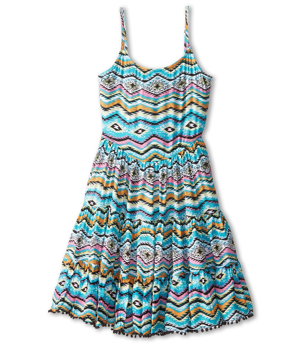 Ella Moss Girl - Claire Woven Dress (Big Kids) (Print) Girl