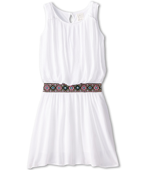 Ella Moss Girl - Jilly Dress (Big Kids) (White) Girl
