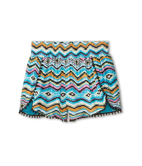 Ella Moss Girl - Claire Woven Shorts (Big Kids) (Print) Girl's Shorts