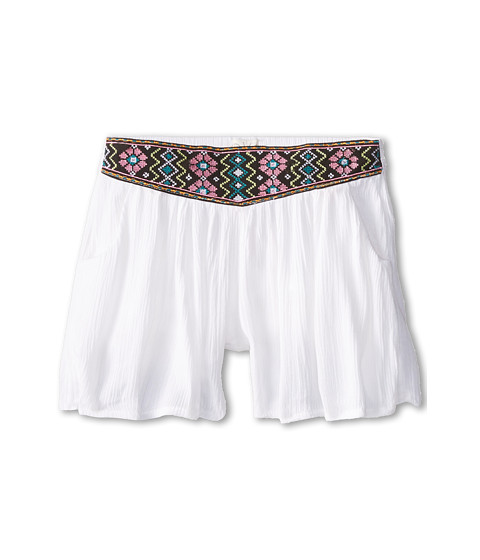 Ella Moss Girl - Jilly Shorts (Little Kids) (White) Girl's Shorts