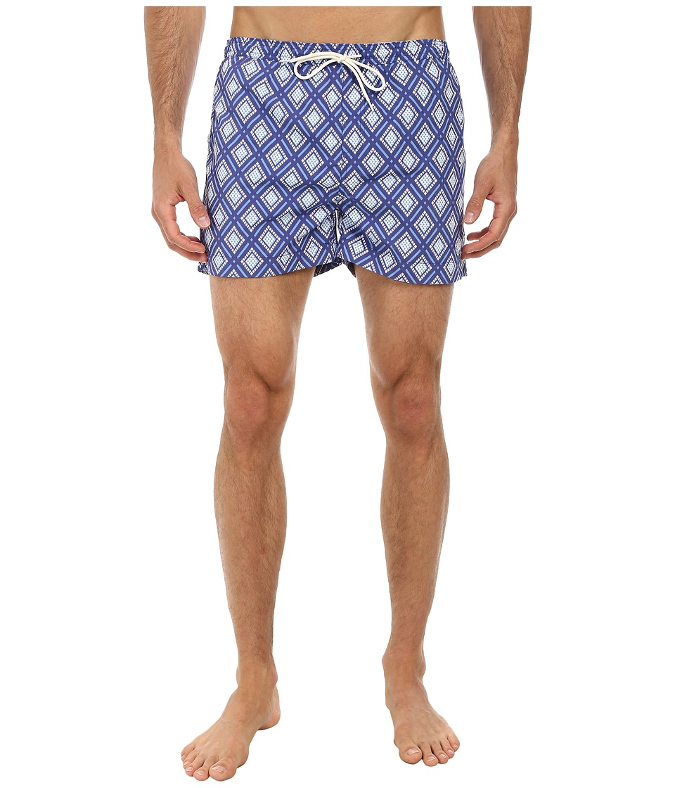 Gant Rugger - R. Diamond Swimtrunks (Indigo Blue) Men