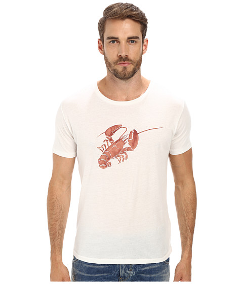 Gant Rugger - R. Lobster Rolls Tee (Cream) Men's T Shirt