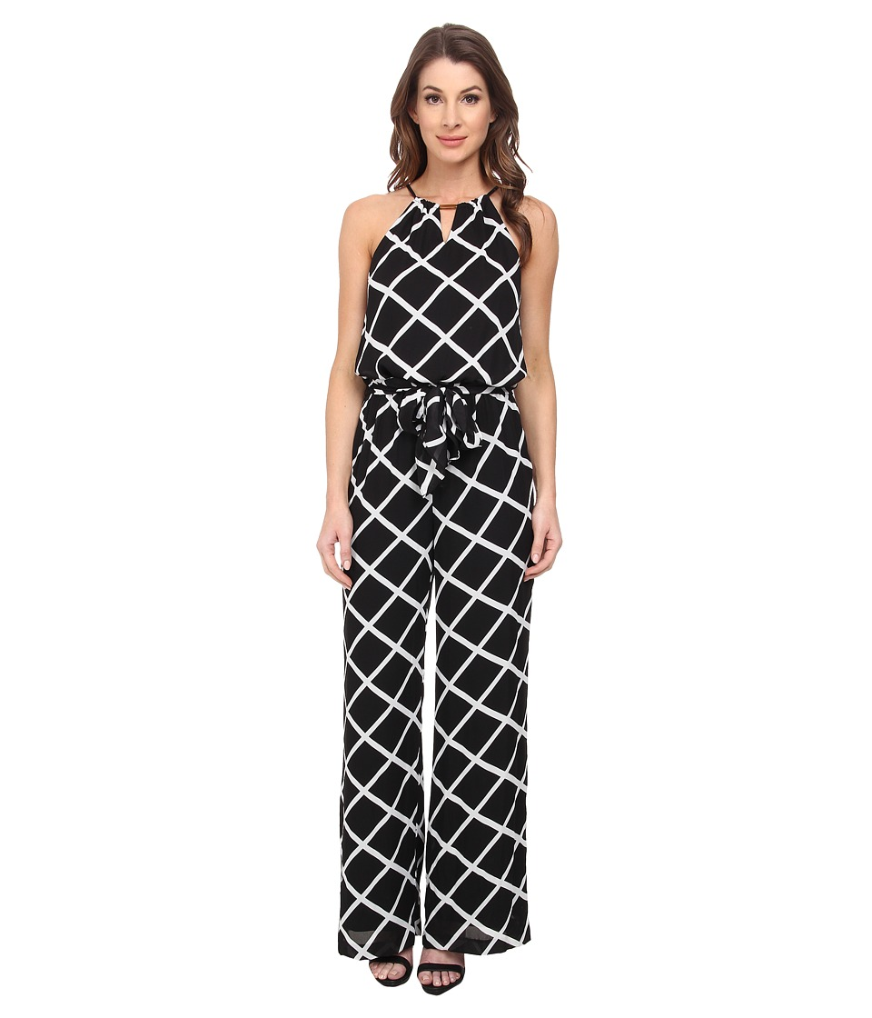 Tahari by ASL - Baron - P Jumpsuit (Black/White) Women's Jumpsuit & Rompers One Piece