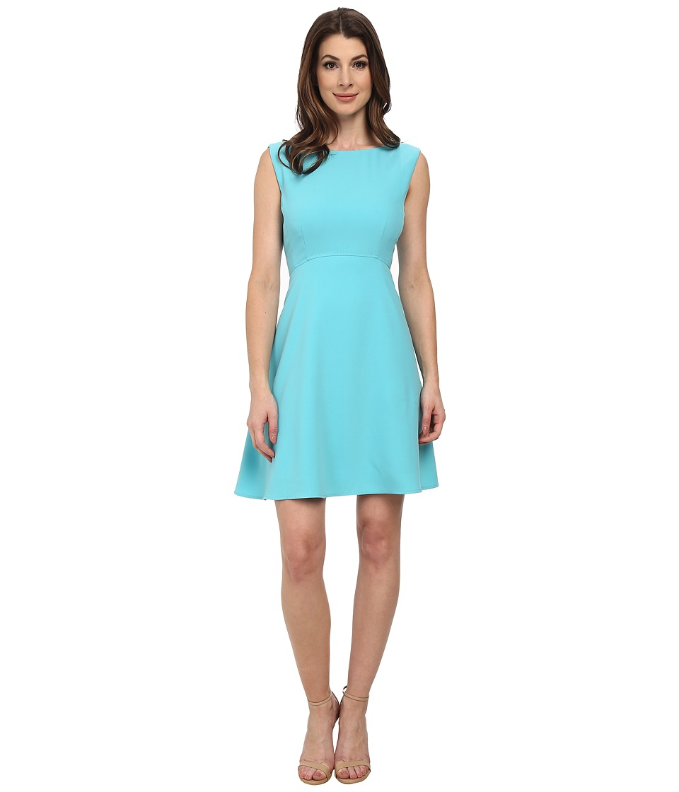 Tahari by ASL - Brian - P Dress (Aqua Blue) Women's Dress
