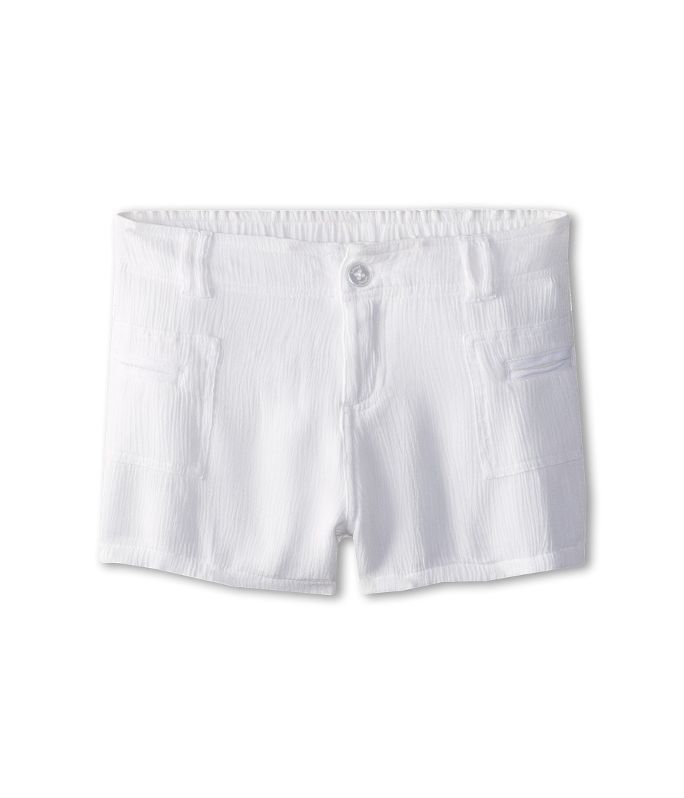Splendid Littles - Woven Shorts (Big Kids) (White) Girl's Shorts