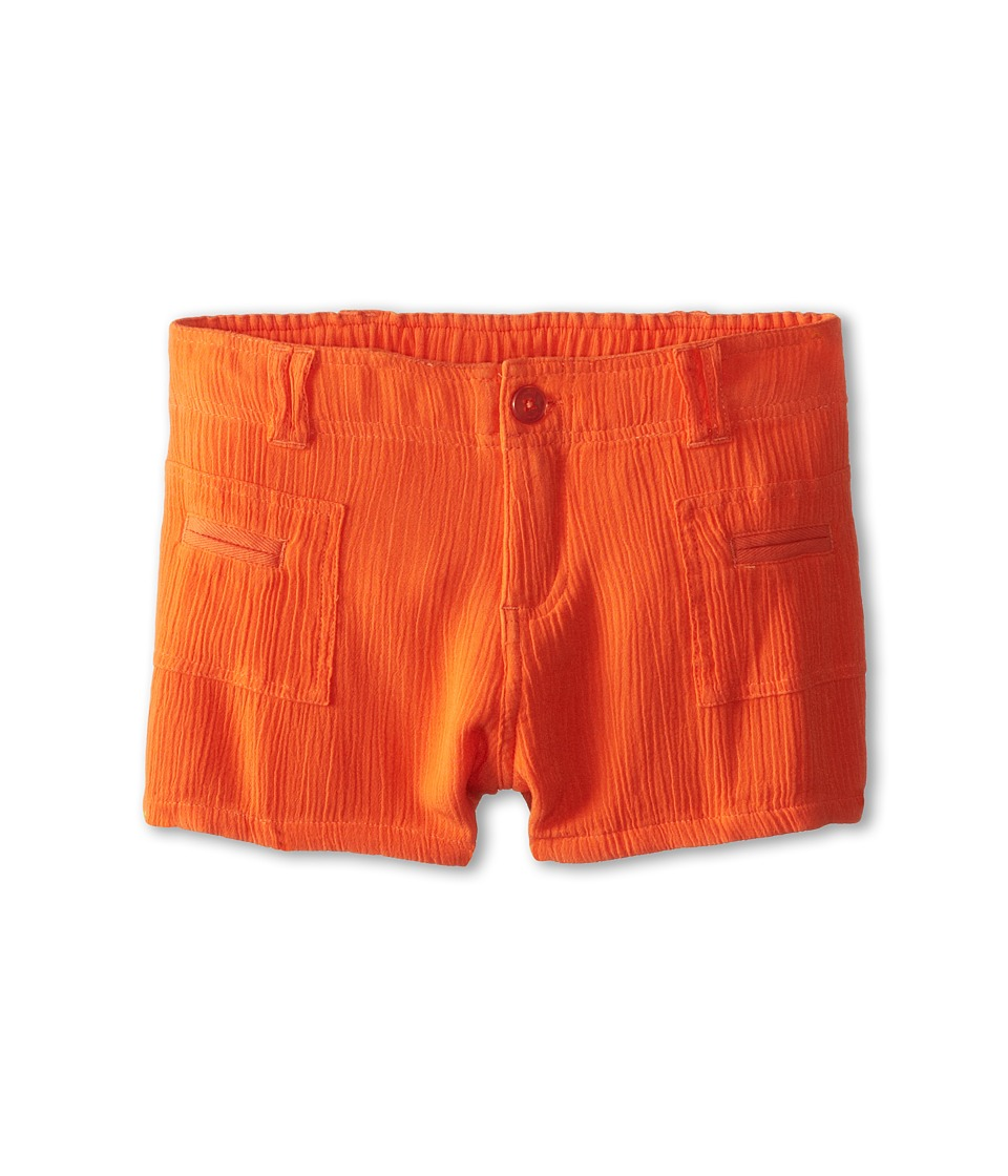 Splendid Littles - Woven Shorts (Big Kids) (Orange) Girl's Shorts