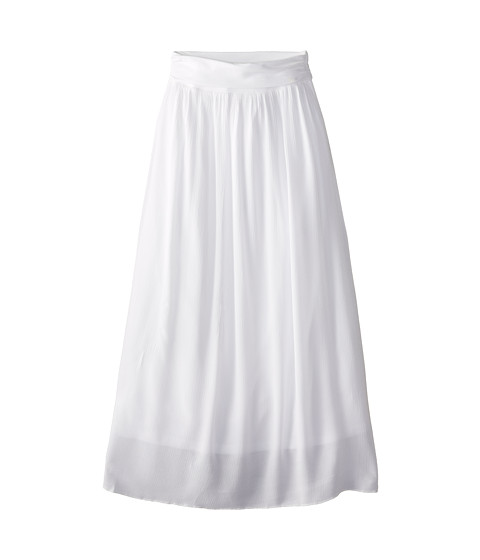 Splendid Littles - Woven Maxi Skirt (Big Kids) (White) Girl