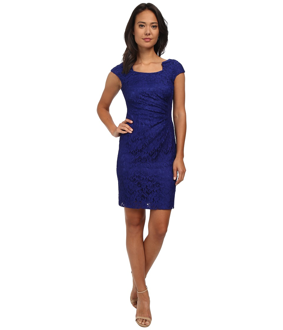 Tahari by ASL - Joey - Q Dress (Sapphire) Women's Dress