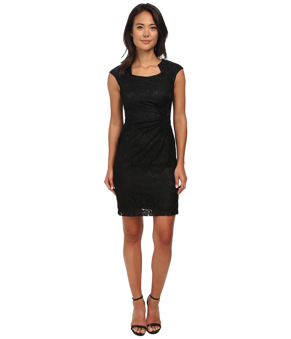 Tahari by ASL - Joey - Q Dress (Black) Women's Dress