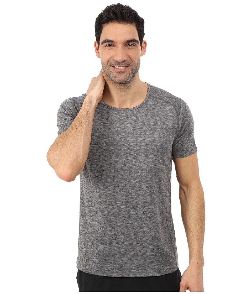 2XU - Movement Short Sleeve Top (Ink/Moon Grey) Men's Clothing