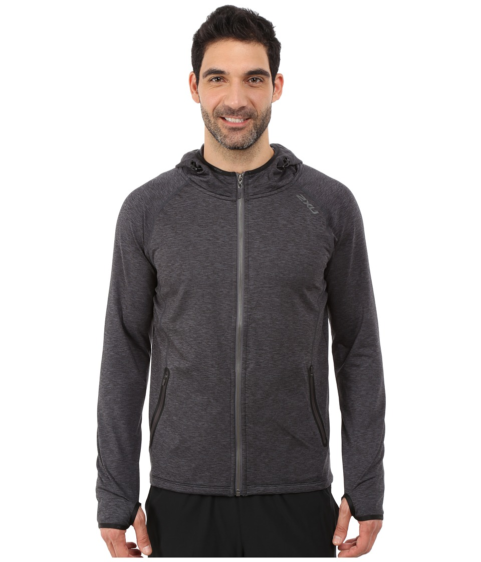 2XU - Movement Form Hoodie (Black/Ink) Men
