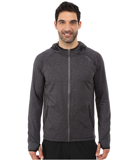 2XU - Movement Form Hoodie (Black/Ink) Men's Sweatshirt