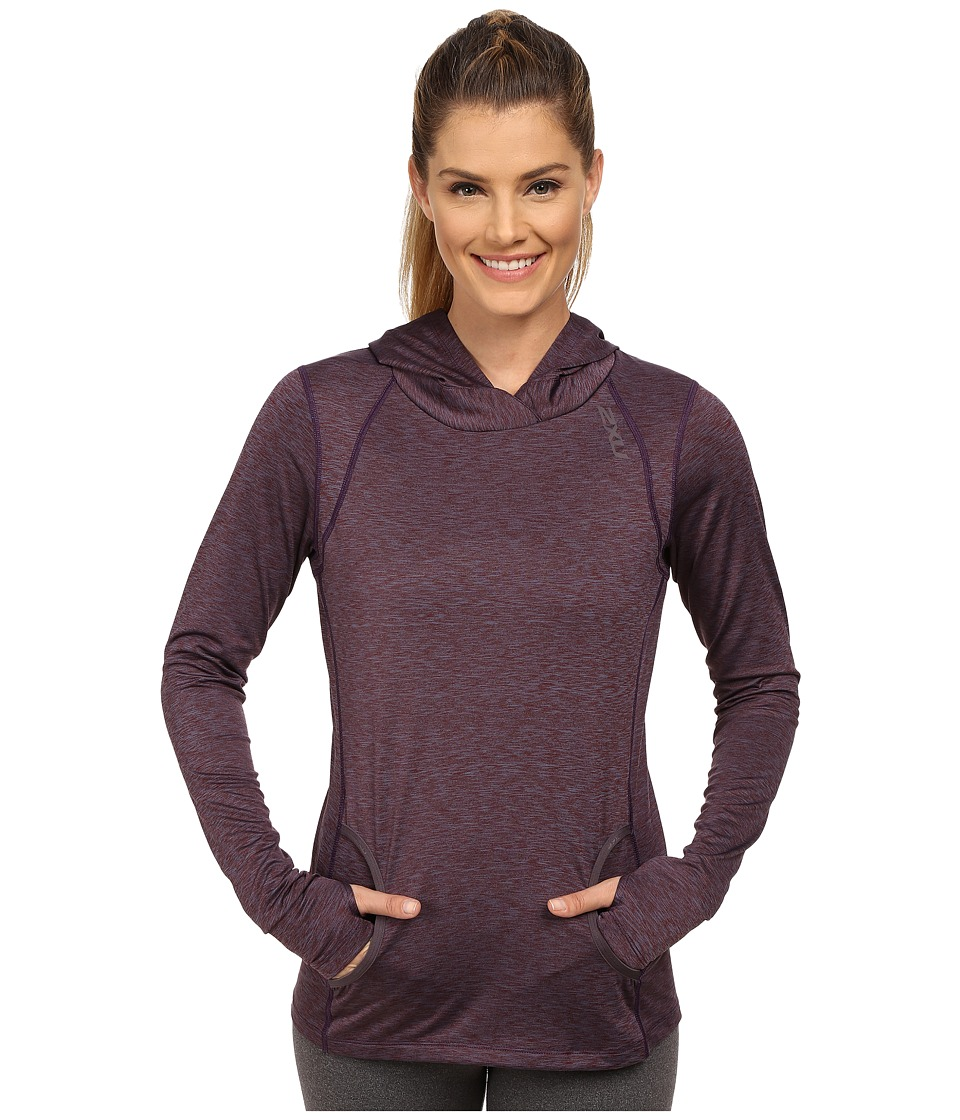 2XU - Movement Pullover (Carbon Purple/Mars Red) Women's Clothing