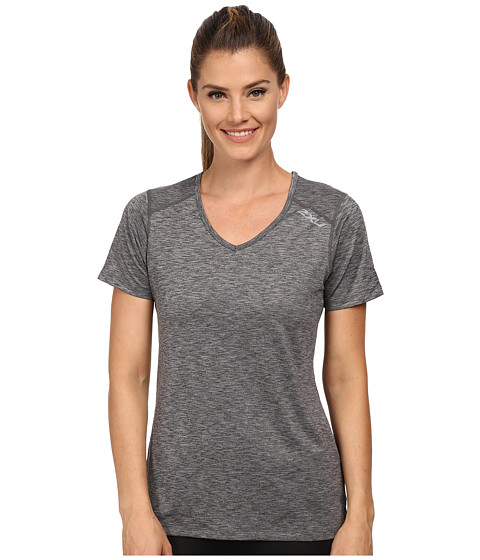 2XU - Movement Tee (Ink/Moon Grey) Women's T Shirt