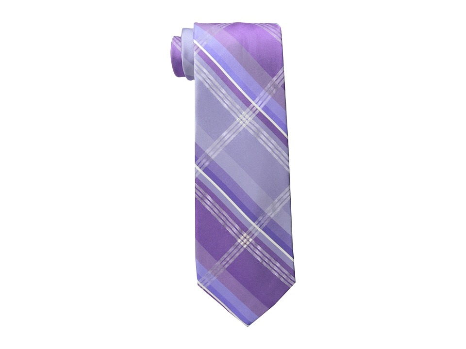 Kenneth Cole Reaction - Chris Grid (Purple) Ties