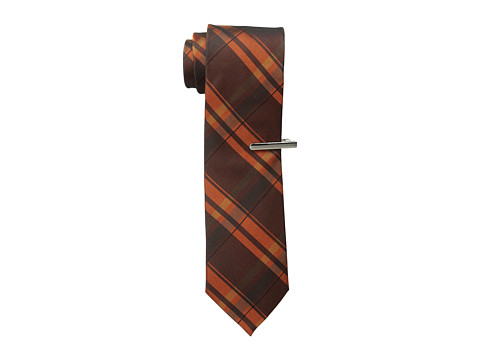 Calvin Klein - Technic Bright Color Block (Orange) Ties