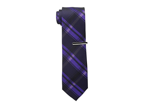 Calvin Klein - Technic Bright Color Block (Purple) Ties