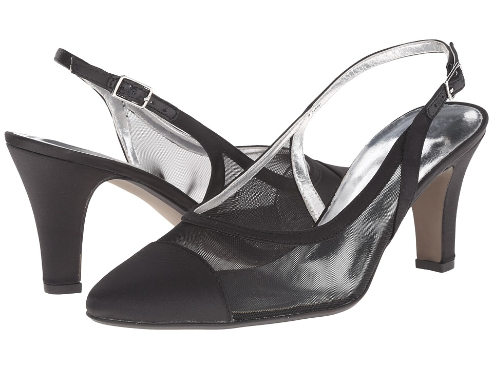 David Tate Vegas (Black) High Heels