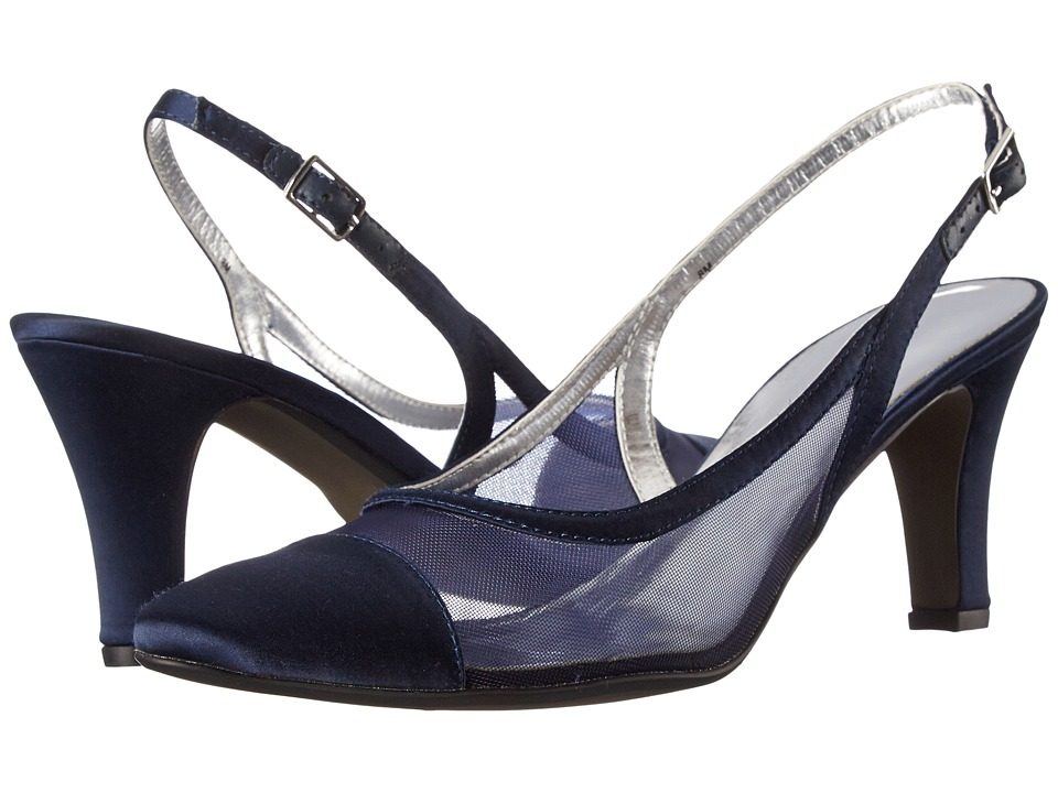 David Tate Vegas (Navy) High Heels