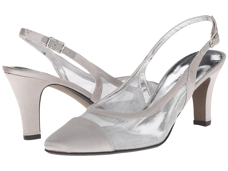 David Tate - Vegas (Silver) High Heels