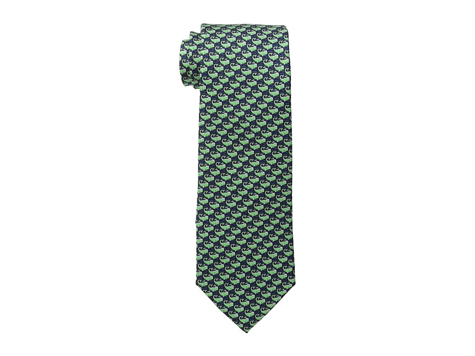 Tommy Hilfiger - Whale Print (Green) Ties