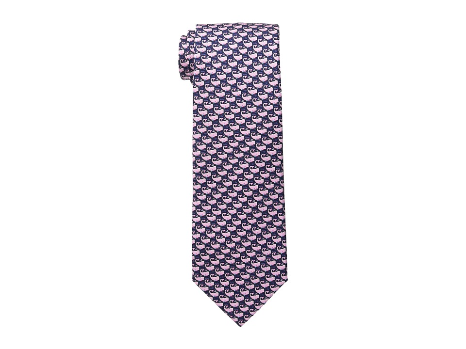 Tommy Hilfiger - Whale Print (Pink) Ties