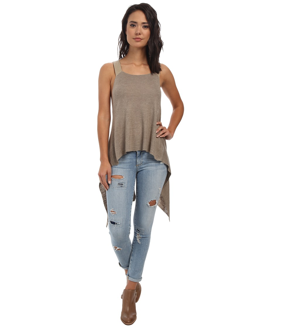 Free People - Utility Sweater Tank Top (Birch) Women's Blouse