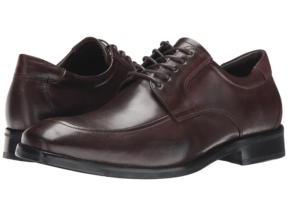 Johnston & Murphy - Feldon Moc Lace-Up (Brown Calfskin) Men's Lace Up Moc Toe Shoes