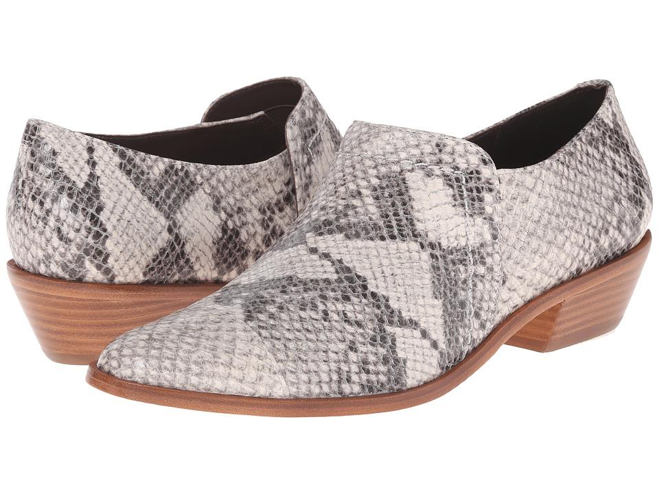 Image of Bernardo - Christina Snake (Taupe) Women's Slip on Shoes