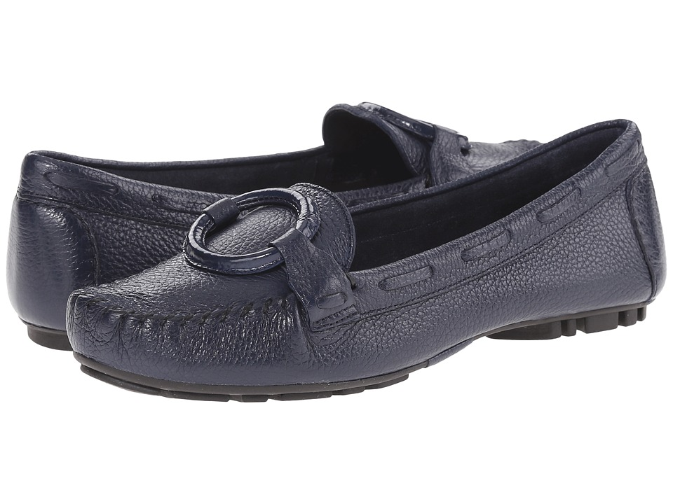 Bernardo - Matrix Moc (Navy) Women's Moccasin Shoes