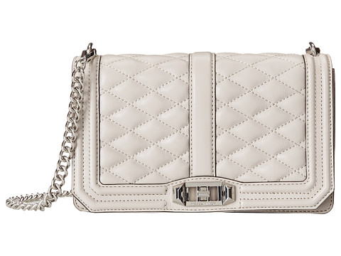 Rebecca Minkoff - Love Crossbody (Dove) Cross Body Handbags