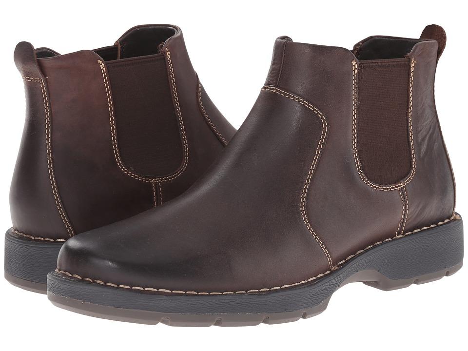 Johnston & Murphy - Byatt Gore Boot (Dark Brown Oiled Full Grain) Men