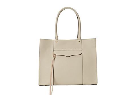 Rebecca Minkoff - Medium Mab Tote (Khaki) Tote Handbags