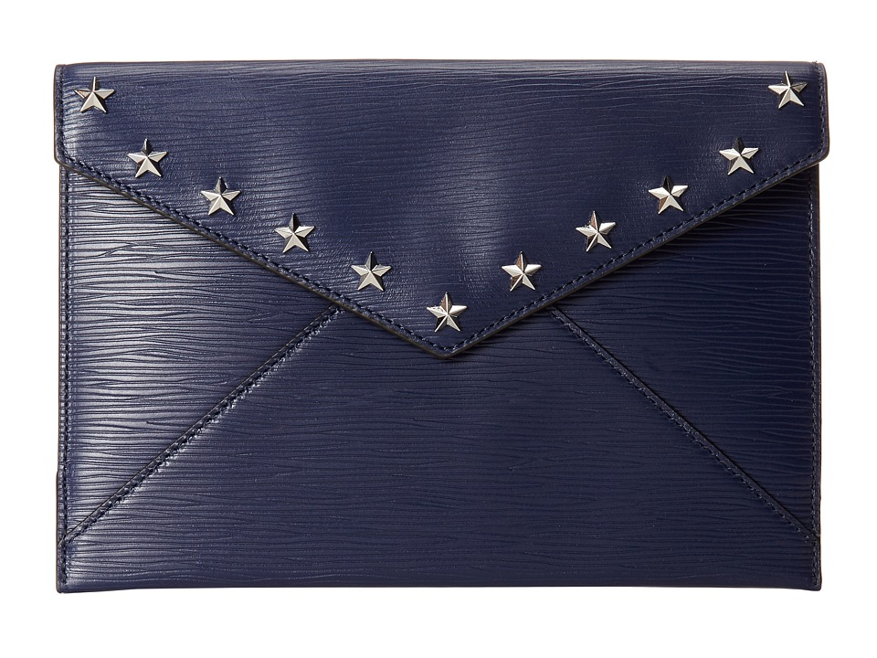 Rebecca Minkoff - Leo Clutch With Stars (Midnight) Clutch Handbags