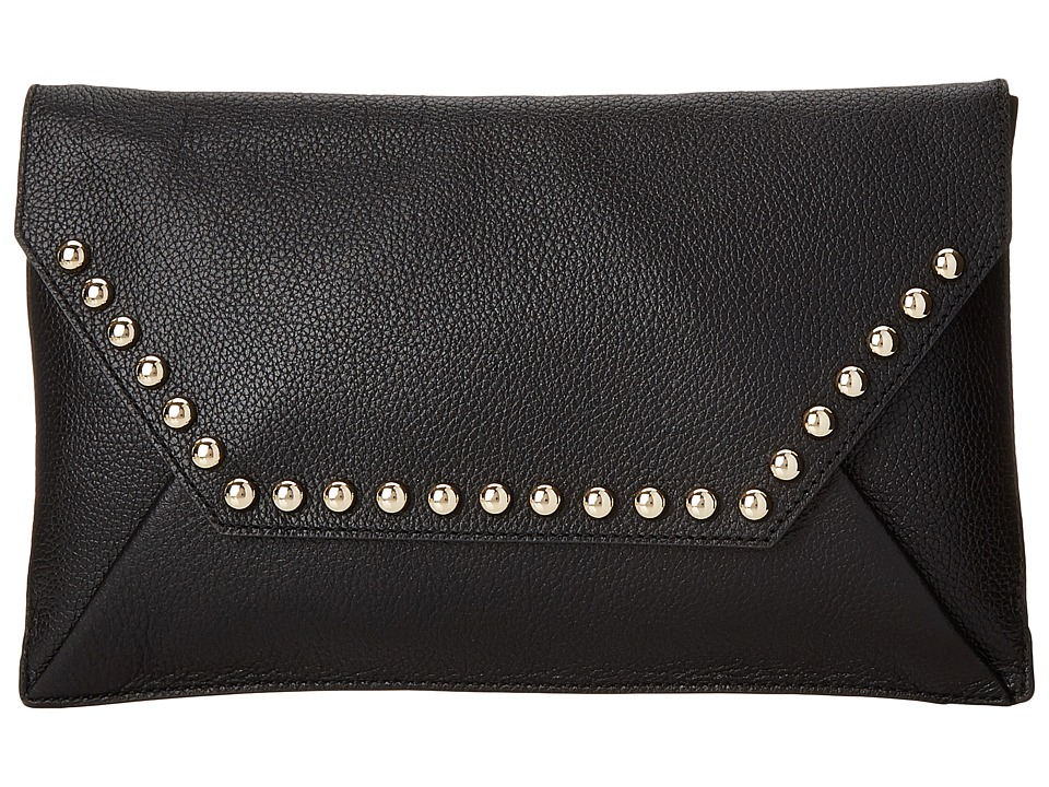 Rebecca Minkoff - Unlined Clutch (Black) Clutch Handbags