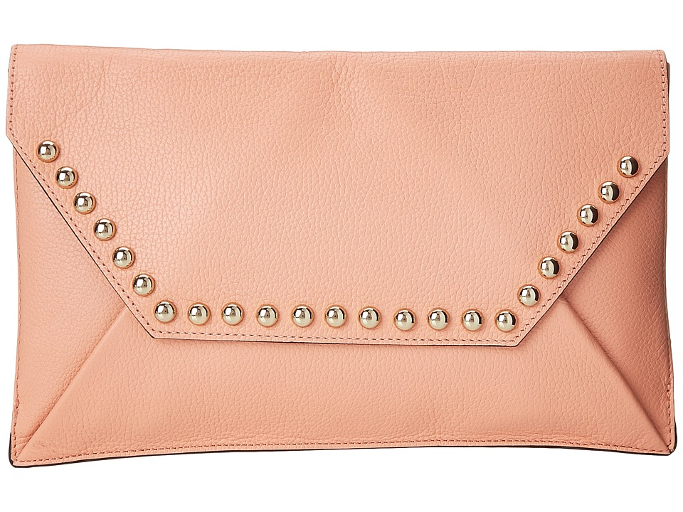 Rebecca Minkoff - Unlined Clutch (Apricot) Clutch Handbags