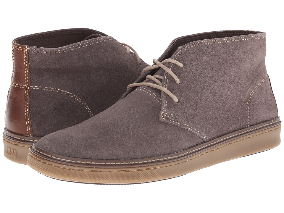 Johnston & Murphy - McGuffey Chukka (Gray Suede) Men's Lace-up Boots