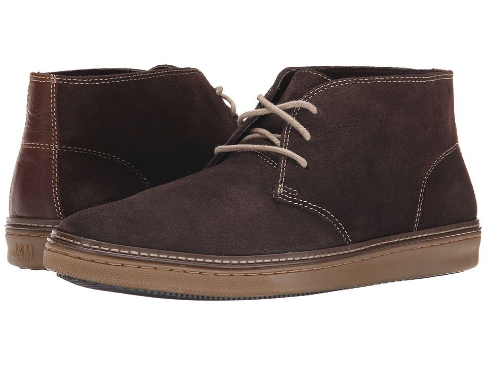 Johnston & Murphy - McGuffey Chukka (Chocolate Suede) Men's Lace-up Boots