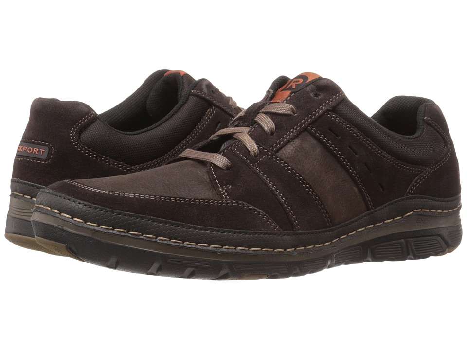 Rockport - Activeflex Rocsports Lite Mudguard Ox (Dark Bitter Chocolate) Men's Shoes